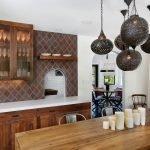 Люстры для кухни в марокканском стиле