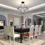 Столовая в марокканском стиле