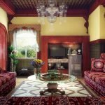 Комната с двумя диванами