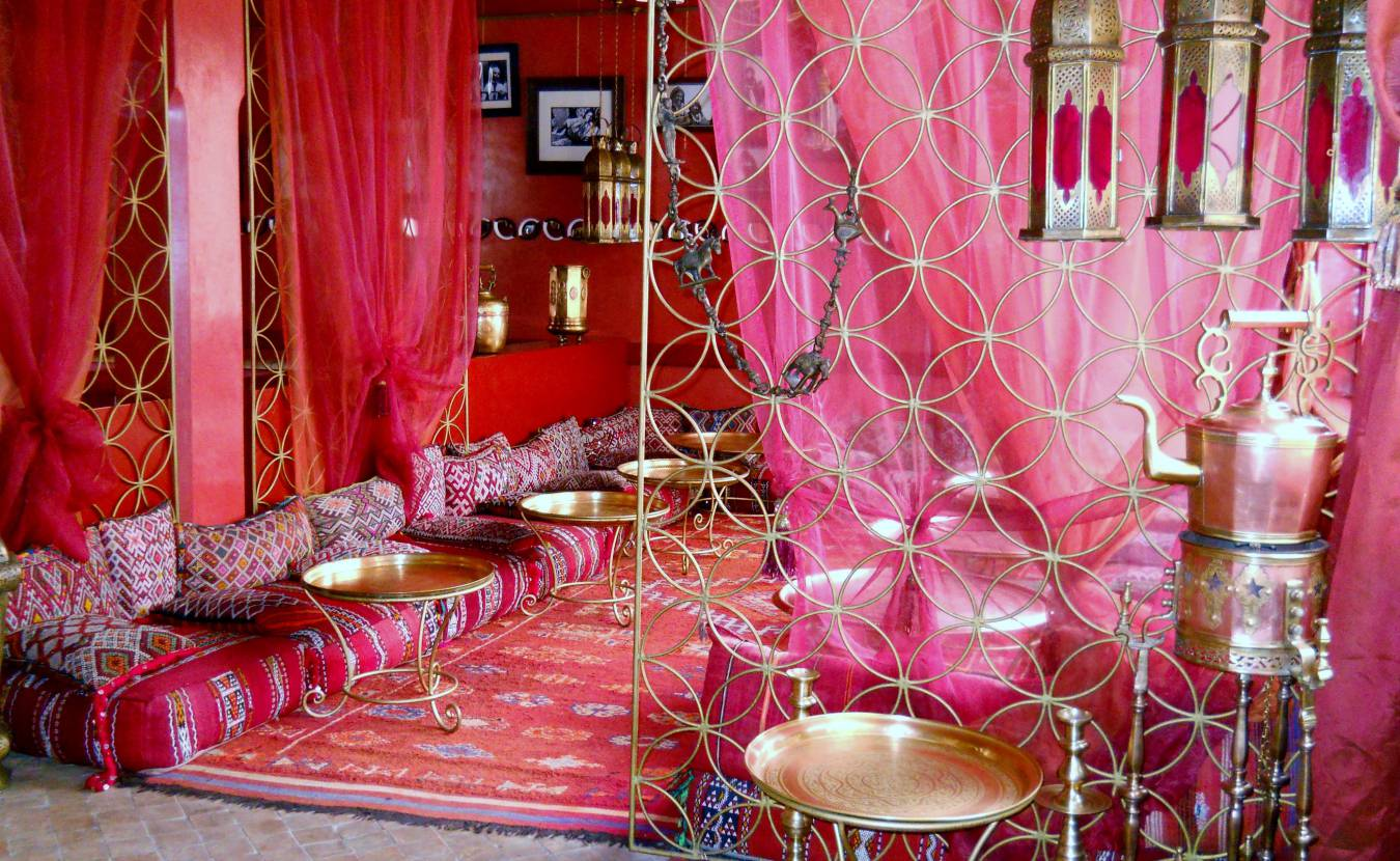 Текстиль для восточного интерьера